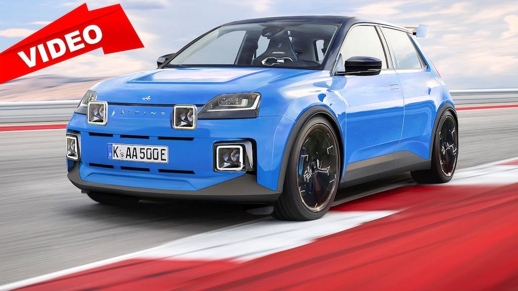Neuer Elektro-Hot-Hatch von Alpine