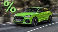 Audi RS Q3 Sportback (2021): Rabatt