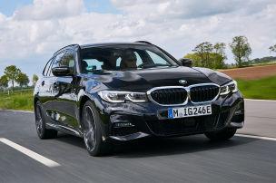 BMW 320e Touring: Test