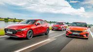 Mazda3, Kia Ceed, Ford Focus: Test