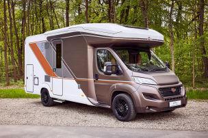 Wohnmobil mit neuem Alkoven-Konzept