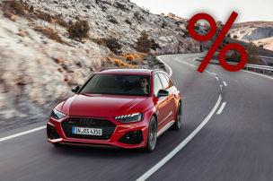 RS 4 Avant bis zu 13.280 Euro g�nstiger