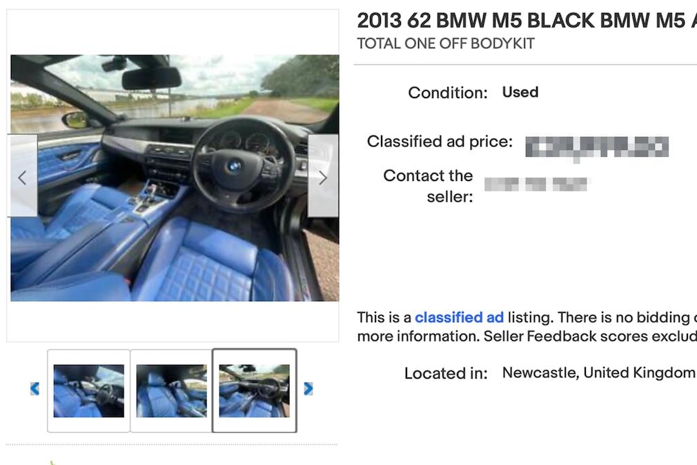eBay  BMW M5