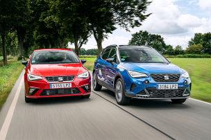 Seat Arona und Seat Ibiza Facelift: Fahrbericht