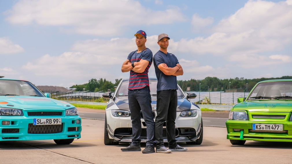 Red Bull Driftbrothers Elias Hountondji und Joe Hountondji