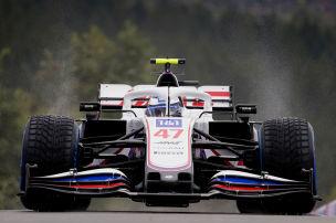 Schumacher junior �berzeugt im Regen