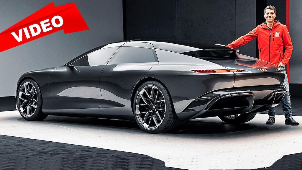 Das Audi Grand Sphere Concept soll autonomes Fahren möglich machen