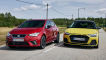 Seat Ibiza FR 1.5 TSI         Audi A1 Sportback 35 TFSI