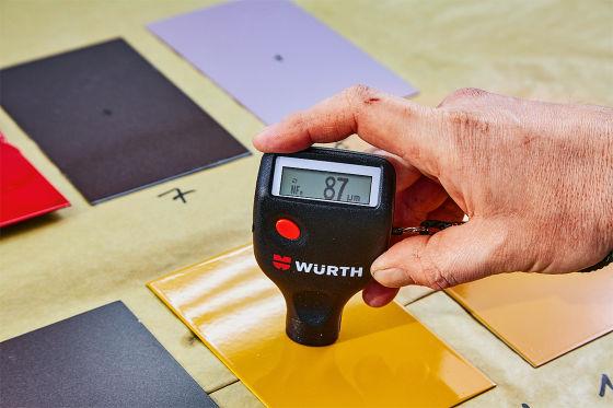Produkttest Lackschichtmessgeräte - WÜRTH 0715 53 790