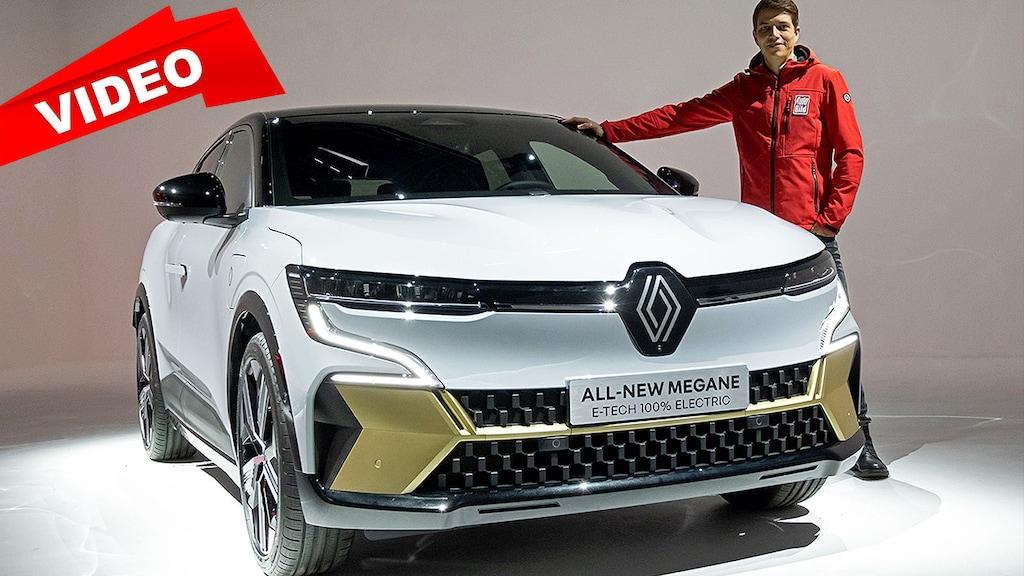 Renault Mégane E-Tech Electric mit Android-Infotainment und engem Fond