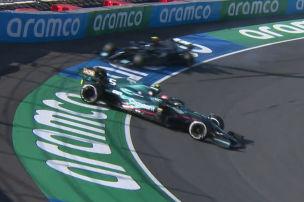 Zu viel Risiko f�hrt zu Vettel-Dreher