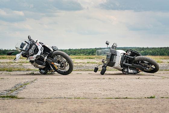 BMW R 1250 GS Harley-Davidson Pan America Special