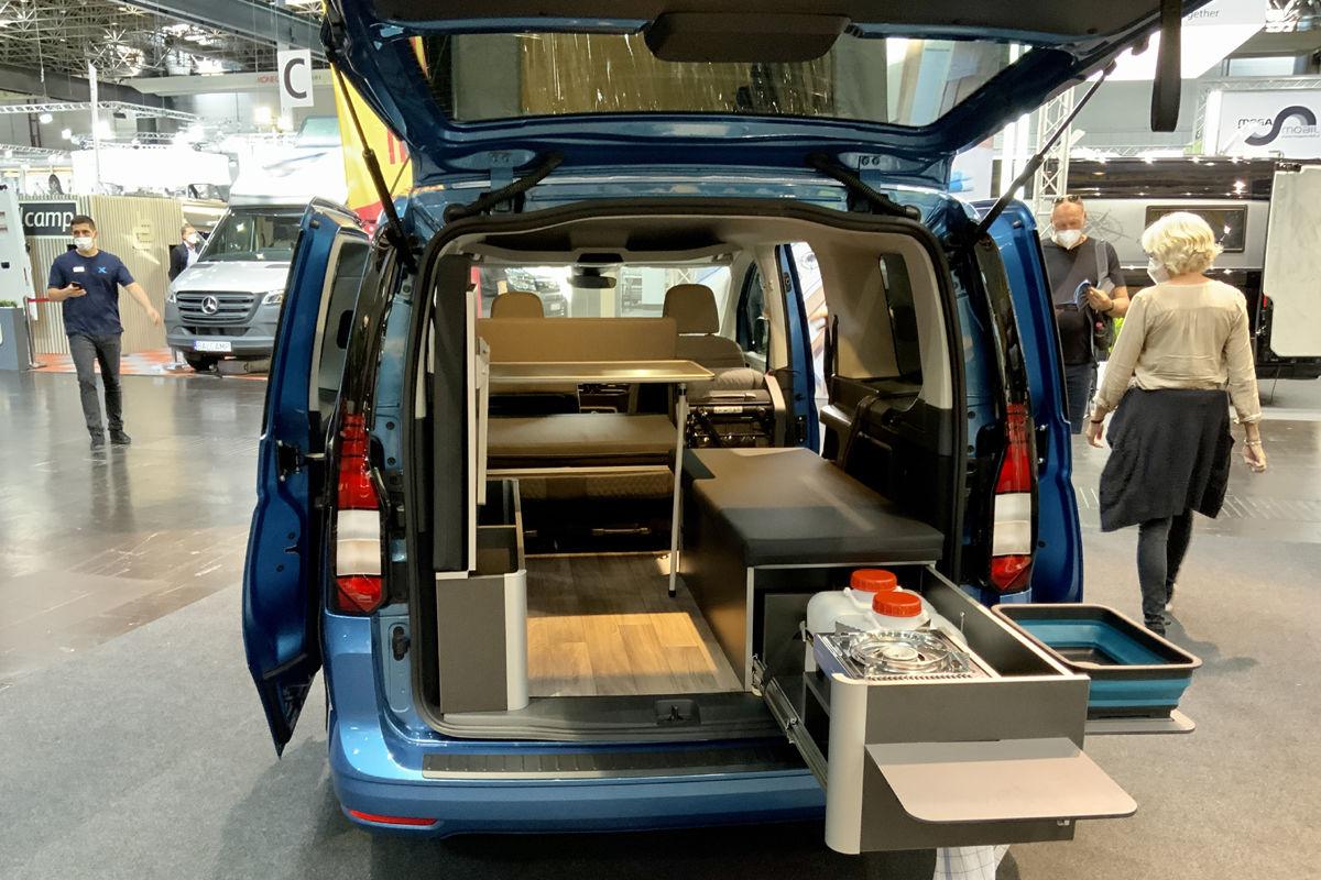 Reimo VW Caddy Maxi Weekender