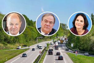 Die Auto-Pl�ne von Union, SPD, Gr�ne
