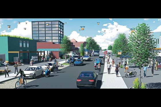 ITS Die Straße der Zukunft - Billstraße