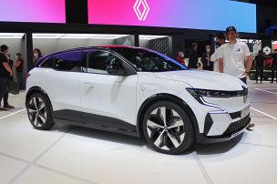 Elektroautos auf der IAA 2021