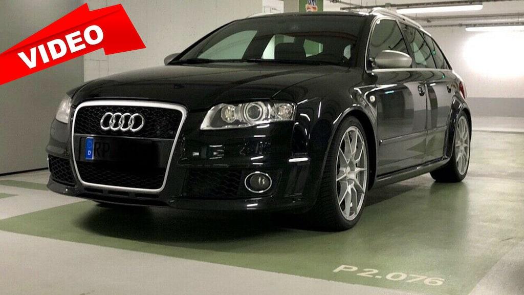 Audi RS 4 mit MTM-Tuning zu verkaufen