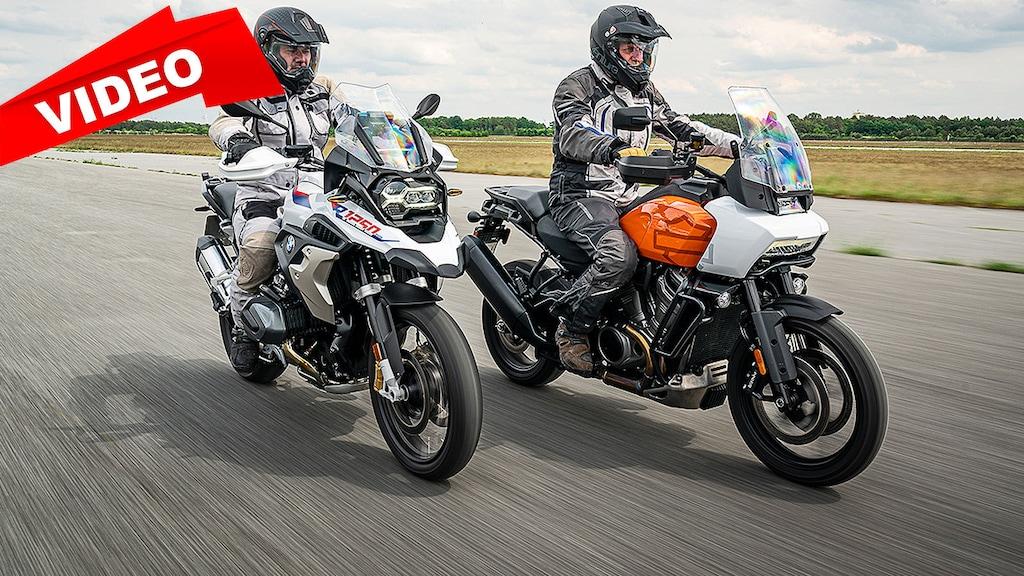 Überflügelt die Harley die BMW-Legende?