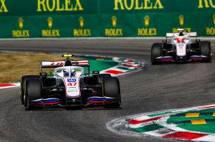 Schumacher und Mazepin: Es knallt schon wieder!