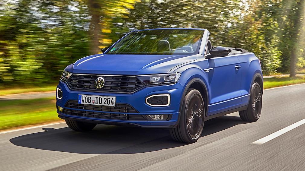 "VW T-Roc Cabrio R-Line ""Edition Blue"""