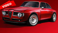 Retro-Alfa mit 510 PS starkem V6-Biturbo