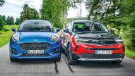 Ford Puma, Opel Mokka: Test