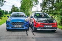 Schicke Mini-SUVs mit Diesel im Test