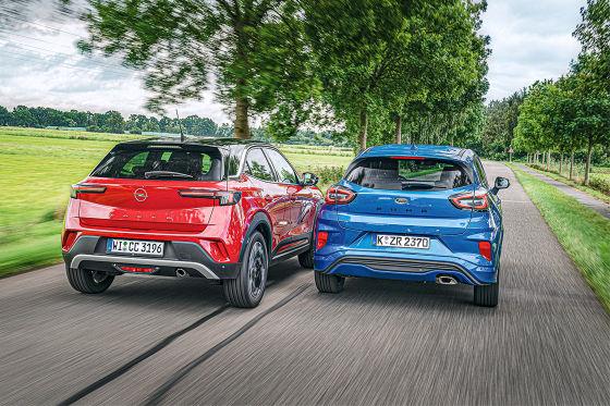 Opel Mokka 1.5 Diesel Ford Puma 1.5 EcoBlue
