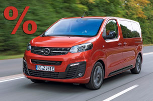 Opel Zafira-e Life mt sattem Rabatt