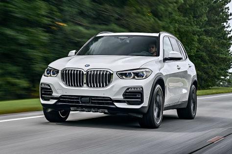 Großes SUV zum kleinen Preis: BMW X5 ab 539 Euro netto leasen - autobild.de