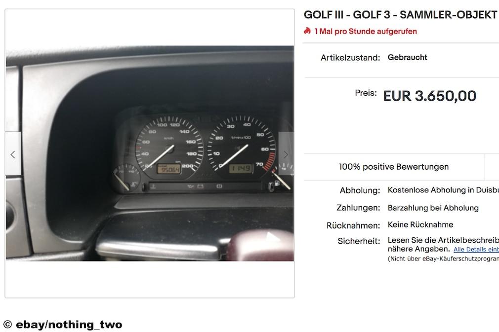 eBay  GOLF III