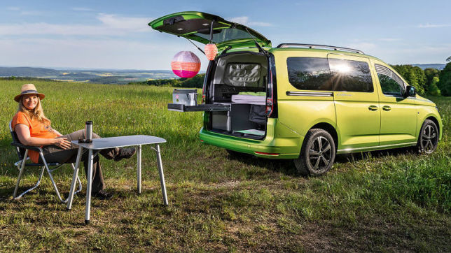 VW Caddy California: Wohnmobil-Test