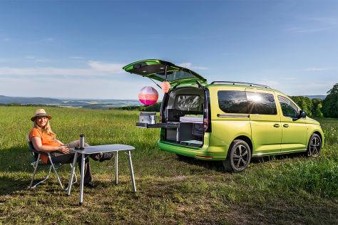 VW Caddy California: Wohnmobil-Test - autobild.de