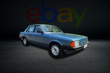 26 Jahre lang in der Garage geparkt! Ford Granada bei eBay