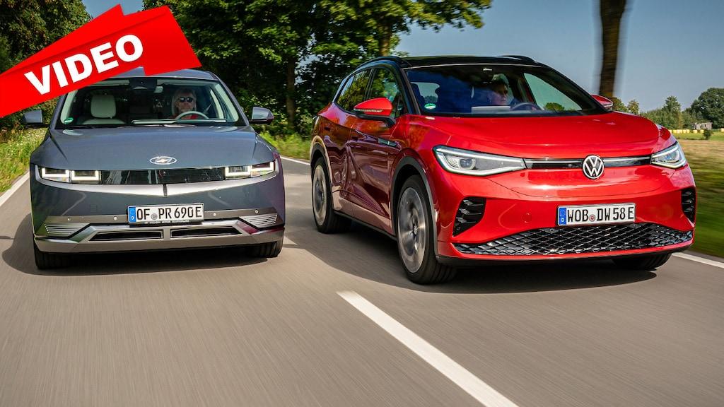 Das Duell der Elektro-SUVs