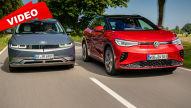 Kompakte Elektro-SUVs im Duell