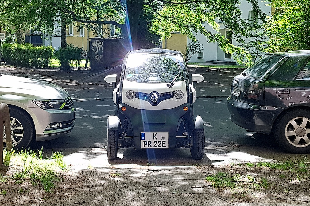 Renault Twizy Dauertest
