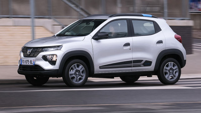 Dacia Spring (2021): Leasing