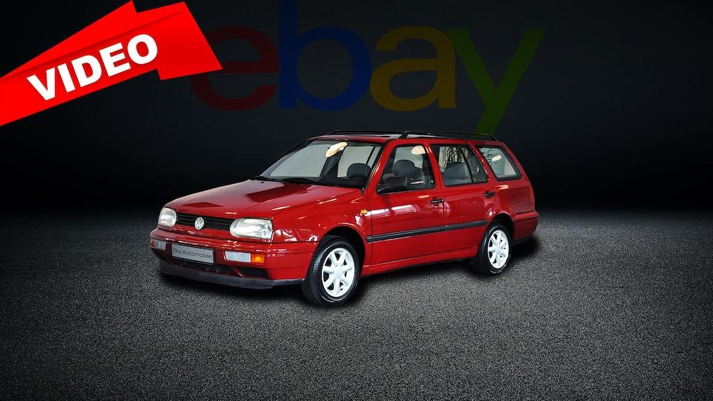 Golf 3 Variant aus Rentner-Hand mit 52.000 Kilometern bei eBay