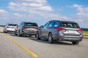 Audi A4 Avant, BMW 3er Touring, Mercedes C-Klasse T: Test