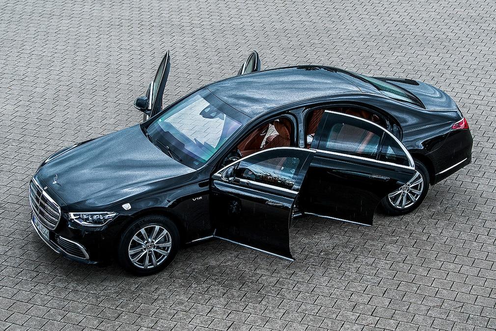 Mercedes S-Klasse S 680 GUARD 4MATIC