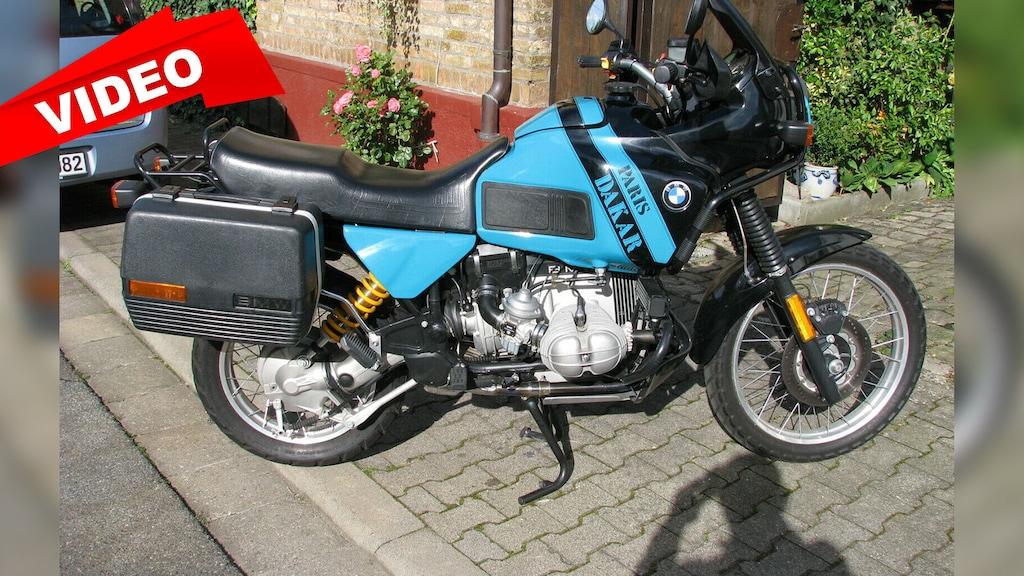 Topgepflegte BMW GS zu verkaufen