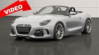 Dieser neue Roadster aus Carbon steht auf der Basis des Z4