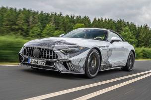 Mercedes-AMG SL (2021): erste Mitfahrt
