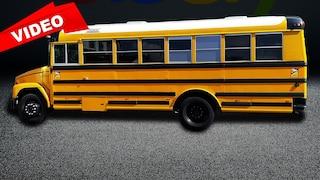 Dieser US-Schulbus ist ein Wohnmobil