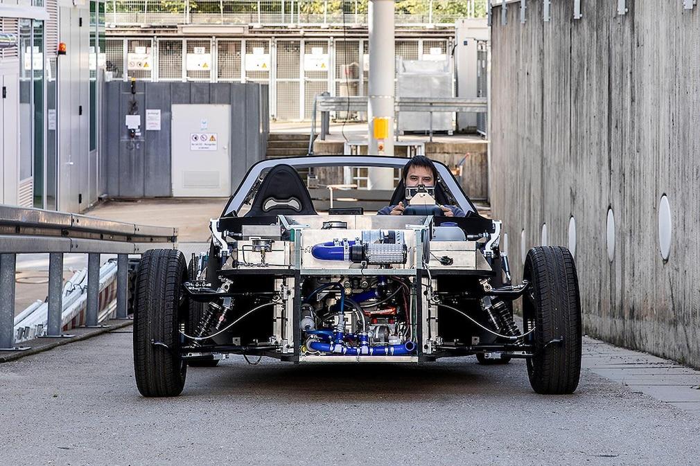 Safe Light Regional Vehicle - DLR Wasserstoffauto