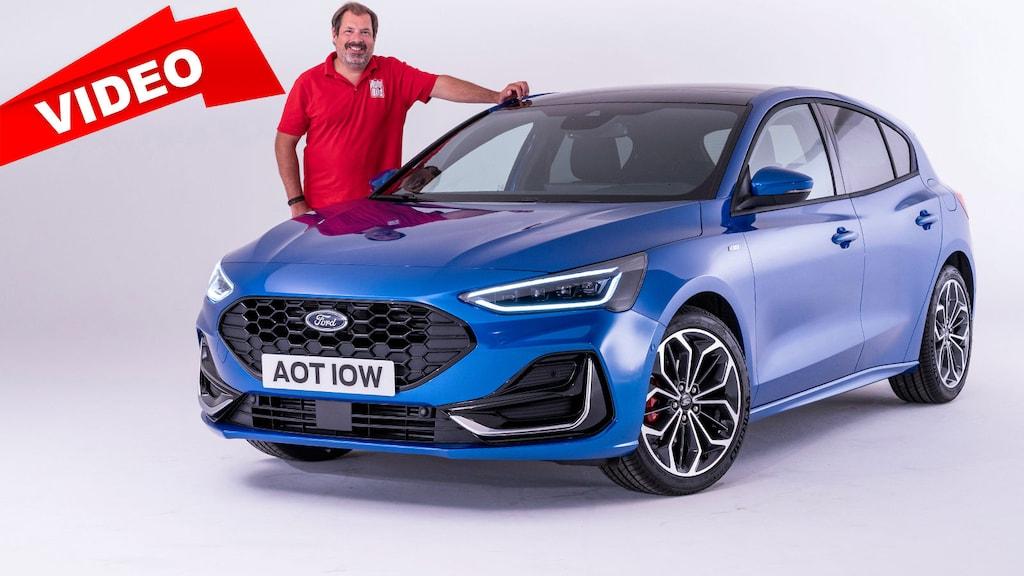 So sieht das Update zum Ford Focus aus