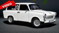 Trabant-Kombi mit Wartburg-Motor