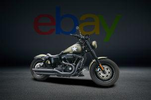 Custom-Harley mit 8300 km auf der Uhr