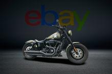 Diese Harley Dyna Fat Bob hat erst rund 8300 Kilometer auf der Uhr
